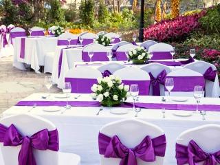 Il vostro banchetto di nozze, una domanda importante è: in che colore lo volete servire?