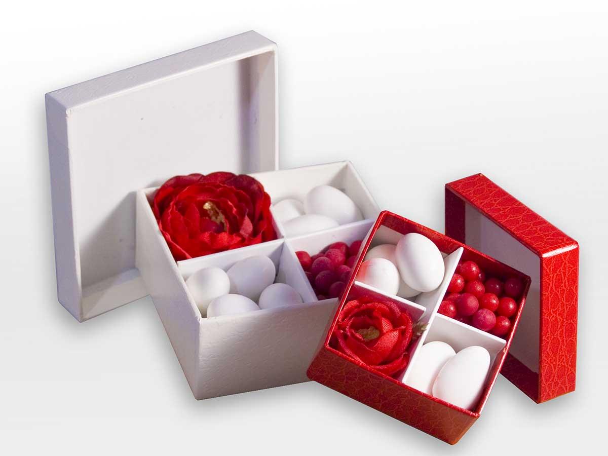 Bomboniere e confetti a tema ispirati da un solo colore - Detalles para los invitados ...