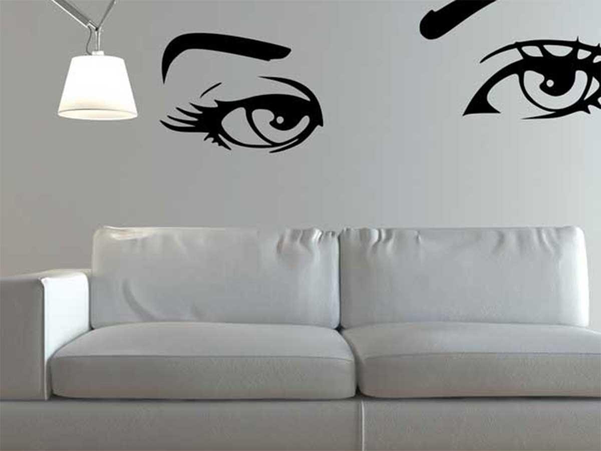 Arredare il nido d amore dove costruirete la vostra famiglia con stickers e decorazioni - Decorazioni muri casa ...