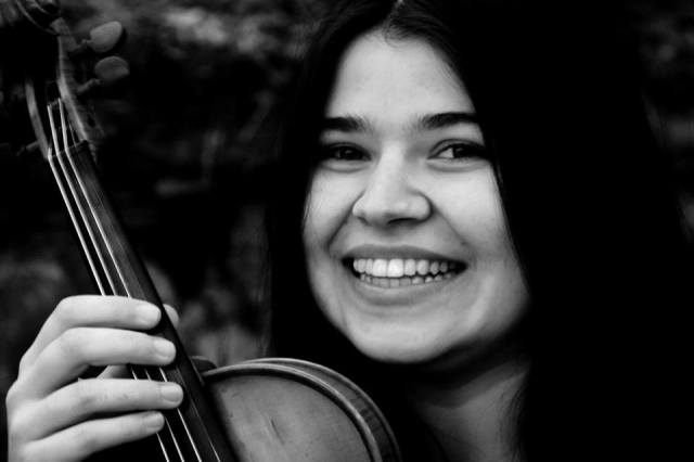 Francesca Del Bianco violinista