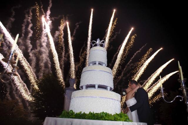 Setti Fireworks Wedding - fuochi d\'artificio