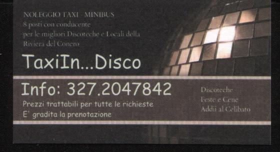 Taxi Conero - Servizio per addio celibato - nubilato