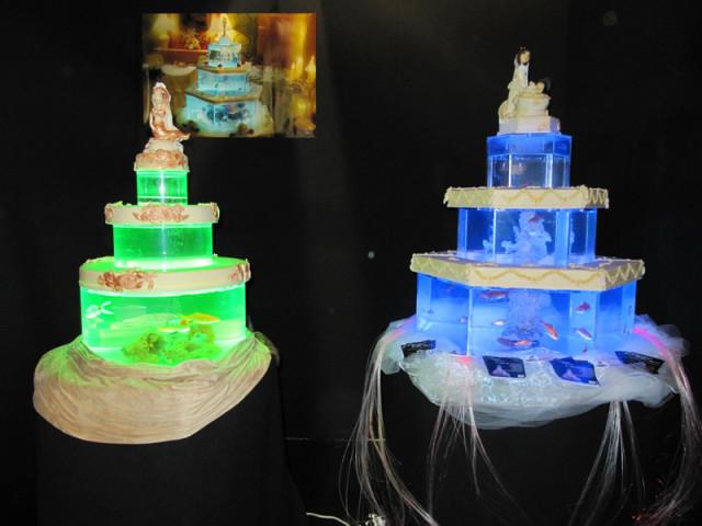 Crystal - Torta Acquario