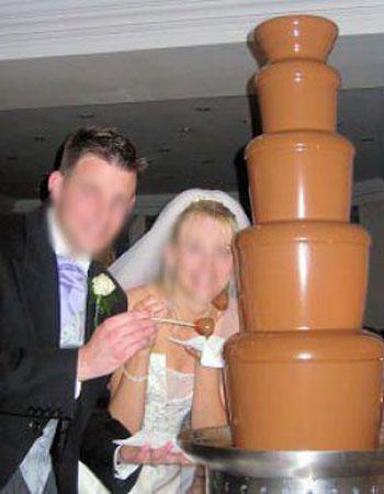 Semar fontane di cioccolato