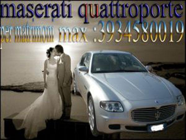 autonoleggio matrimonio foggia