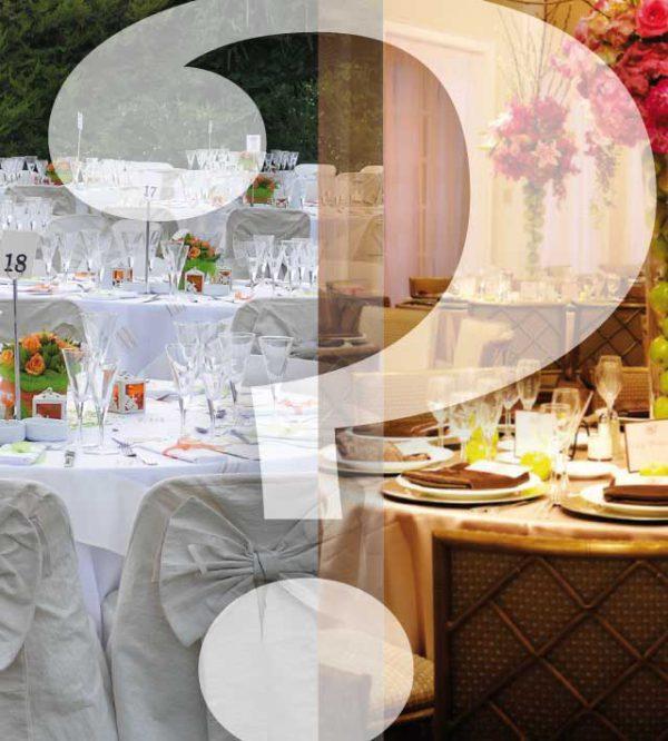 Una pittoresca location per matrimoni o un elegante ristorante: ecco le istruzioni per l'uso