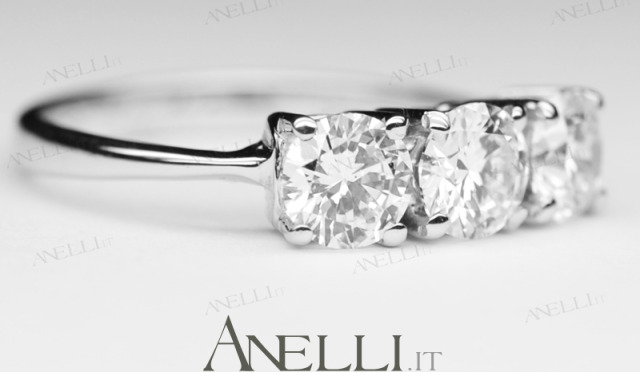 Anelli.it - Anelli Trilogy Solitari e Fedi con Diamanti