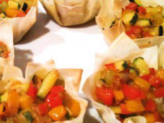 Ricevimento di nozze all'insegna di un menù completamente vegetariano