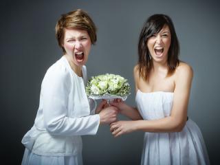 E chi prende il bouquet da sposa al volo… sarà la prossima!!