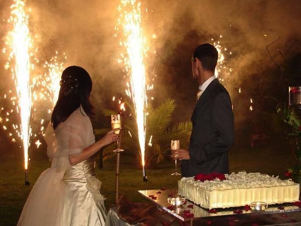 pirotecnico matrimonio liguria