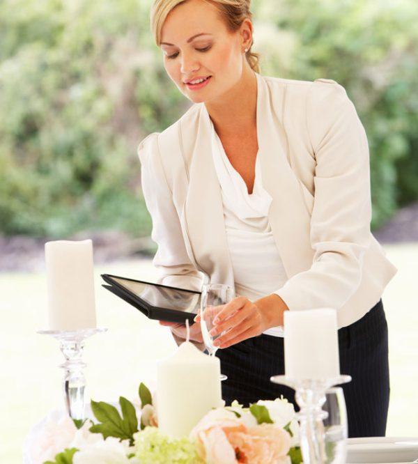 Grazie all\'aiuto del Wedding planner… ogni cosa sarà al posto giusto al momento giusto