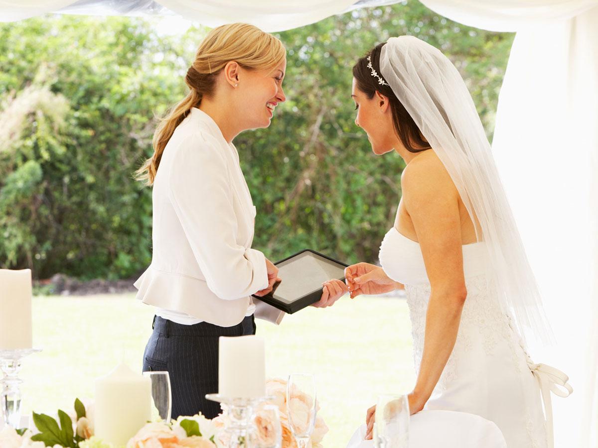 Grazie all'aiuto del Wedding planner… ogni cosa sarà al posto giusto al momento giusto