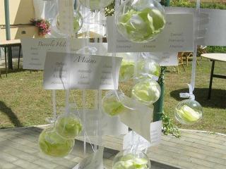 Un nome a ogni tavolo con un tableau de mariage davvero creativo: lasciate spazio alla fantasia!