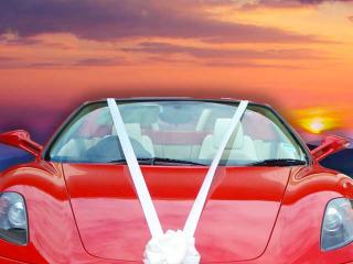 Il noleggio di un'auto supersportiva per un giorno da protagonisti, in occasione delle vostre nozze