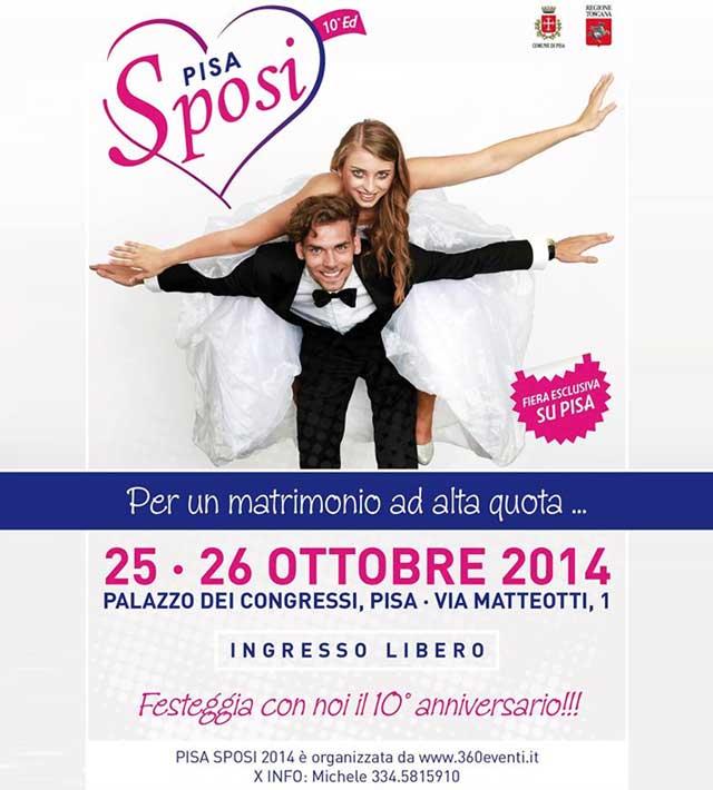 Pisa Sposi - 25 e 26 ottobre 2014