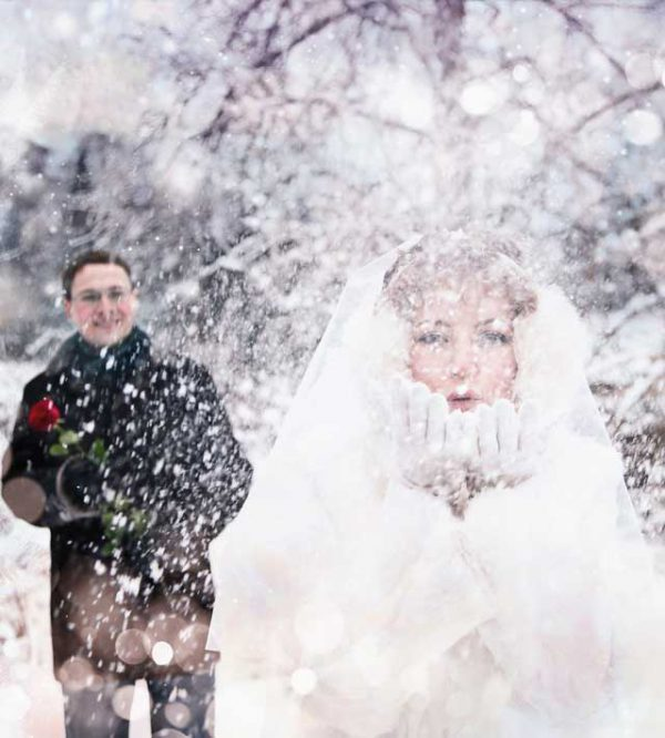 Sposarsi in inverno: i ristoranti presentano soluzioni favolose per la stagione fredda