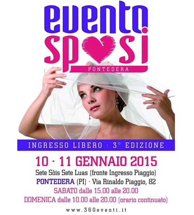 EventoSposi 2015 - 10 e 11 gennaio 2015 Pontedera