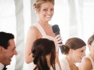 Un discorso di nozze dedicato ai novelli sposi
