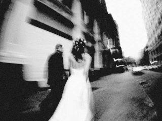 Foto del matrimonio in bianco e nero: ritratti eleganti e senza tempo
