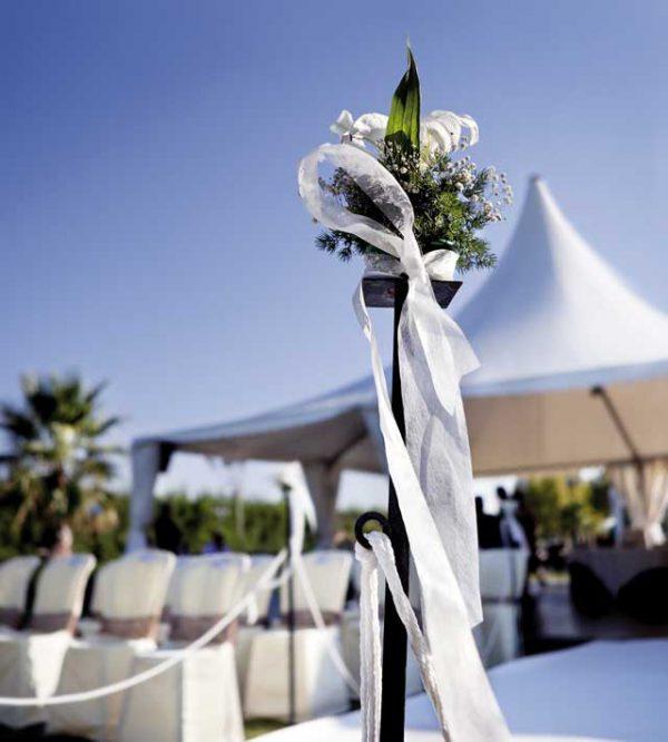 Le location per matrimoni adatte per un ricevimento di nozze all'aperto