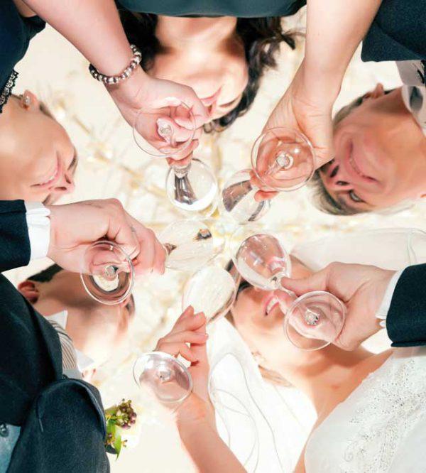 Un matrimonio con il vino giusto ad ogni portata del vostro menù