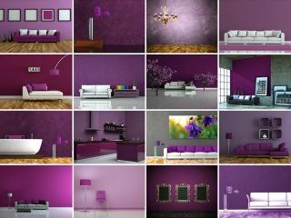 Nuove tendenze arredamento per la casa: complementi in porpora