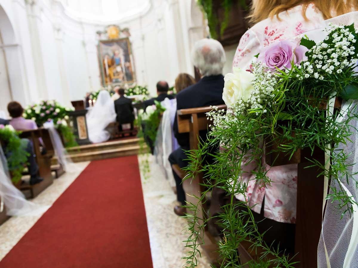 addobbo chiesa matrimonio bergamo
