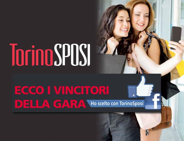 """I vincitori del Selfie """"Ho scelto con Torino Sposi"""""""