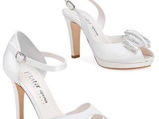 Sempre più sofisticate le calzature per la sposa
