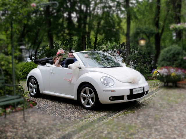 Maggiolone New Beetle per Matrimoni