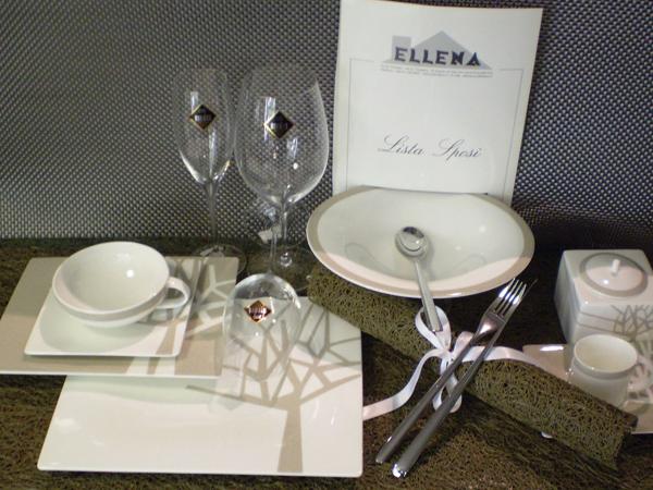 Partecipazioni omaggio per gli sposi che commissionano lista nozze, lista viaggio o bomboniere da Ellena