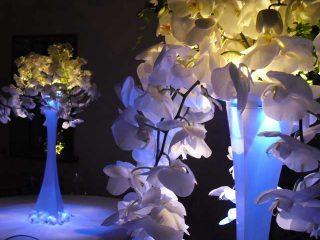 Centrotavola: eleganza, profumi e colori per il banchetto di nozze