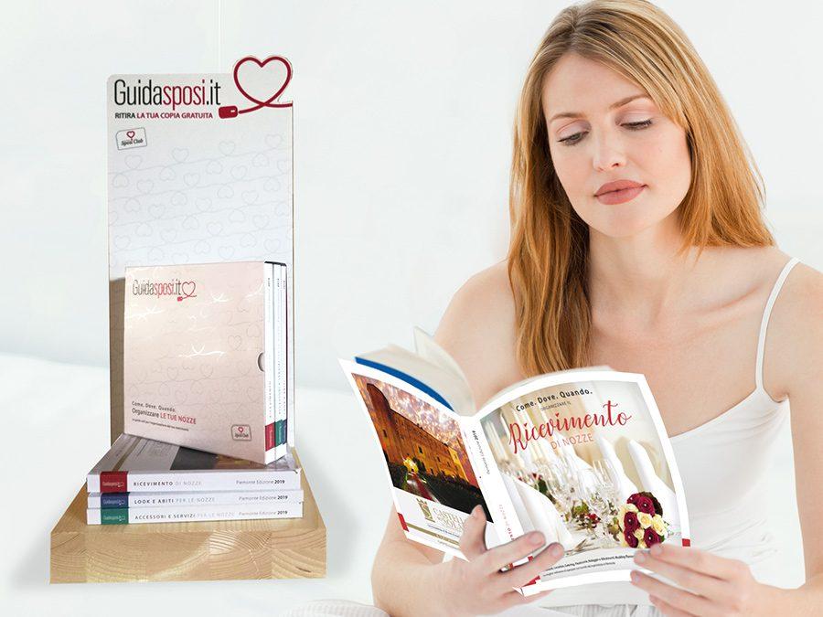 È in distribuzione gratuita la nuova edizione di Guidasposi la Guida Utile 2019