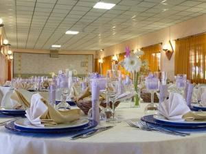 Prova del menù omaggio agli sposi che prenotano il banchetto presso il ristorante La Faggiolina
