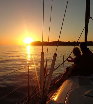 Un viaggio di nozze in barca a vela