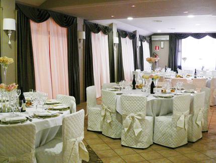 Degustazione gratuita del menù agli sposi che prenotano il banchetto presso il ristorante Dei Cacciatori