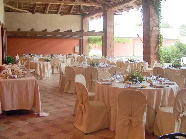 Degustazione del menù in omaggio per gli sposi che prenotano la location Tenuta Sant'Anna