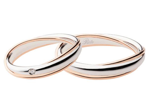 In omaggio un diamante a tutti gli sposi che acquistano le fedi Polello presso Stecco Paolo Gioielli