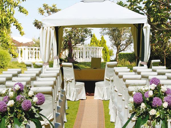 In omaggio prova del menù, suite e organizzatore eventi per gli sposi del 2016 che scelgono Villa Les Reves