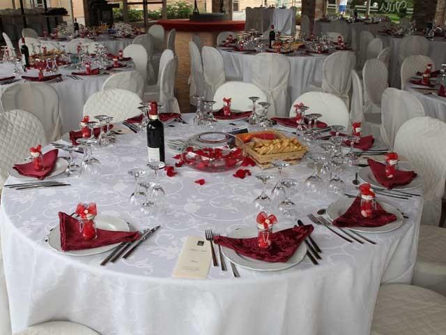 Degustazione del menù in omaggio per gli sposi che prenotano il banchetto al ristorante Antica Villa