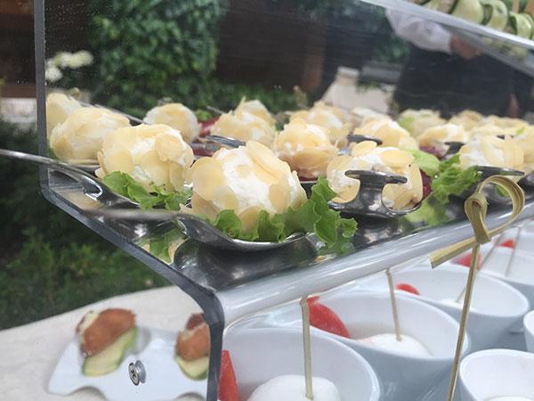 Menù nuziali feriali e fuori stagione al prezzo speciale di 65 Euro presso il catering Mela & Grano