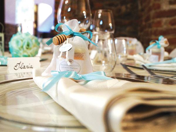 Cena di prova in omaggio per gli sposi che prenotano il banchetto con il catering Il Particolare
