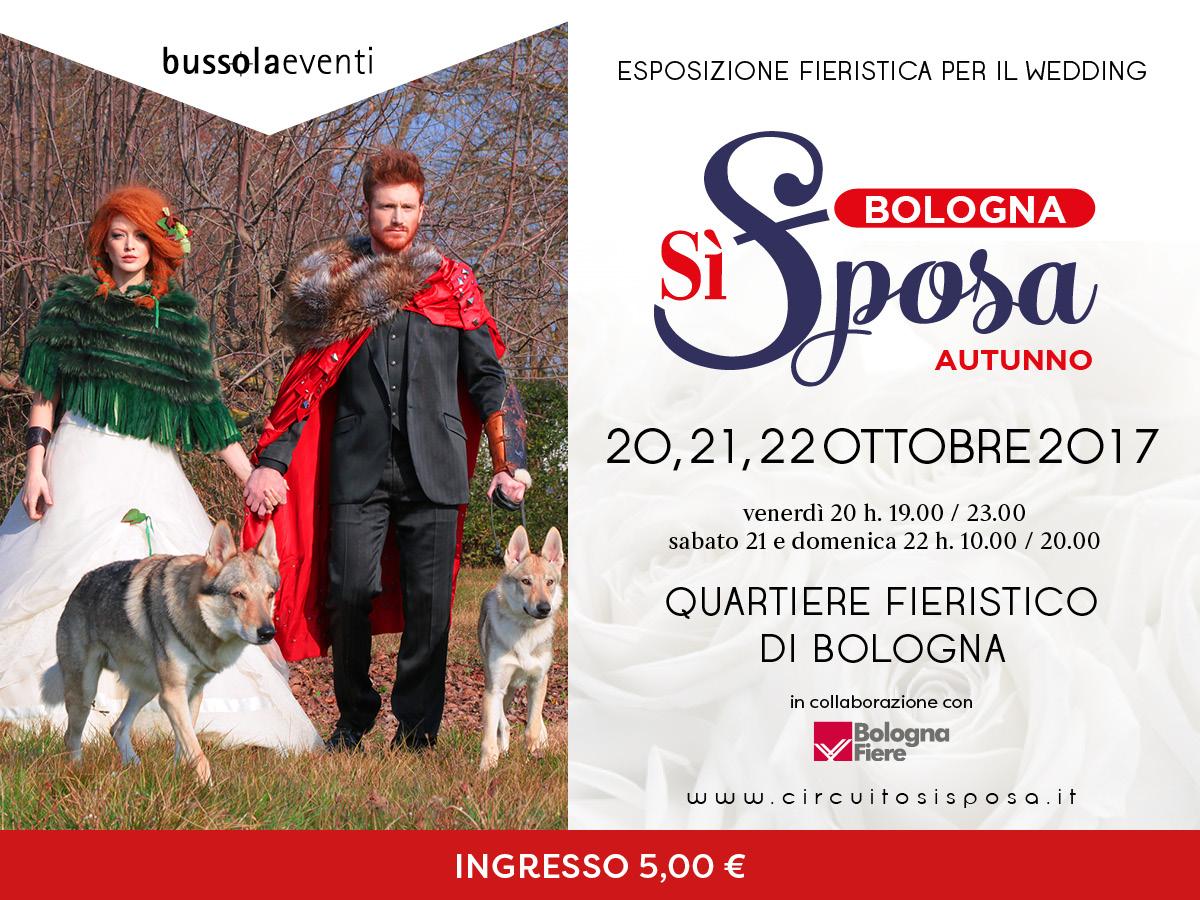 Bologna Sì Sposa - Edizione Autunno Gay Bride Expo - Buy Wedding in Italy dal 20 al 22 ottobre 2017 – Fiera di Bologna