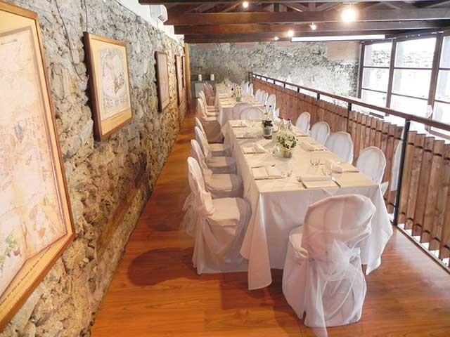 Menù nuziali feriali da 55 Euro agli sposi che organizzano il ricevimento alla Cascina Roland