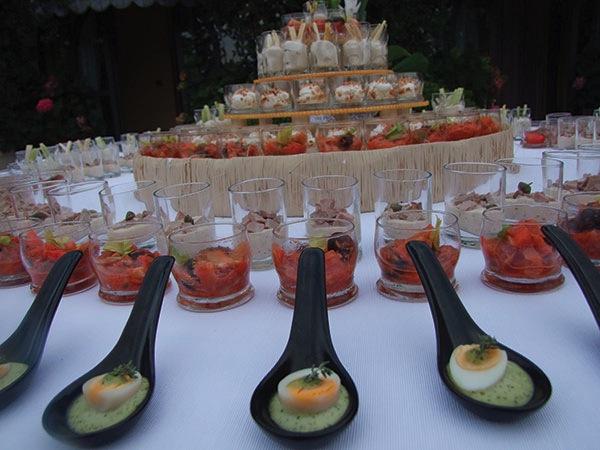 Un omaggio da Catering Torino: la cena del primo incontro e la cena di prova del menù per gli sposi