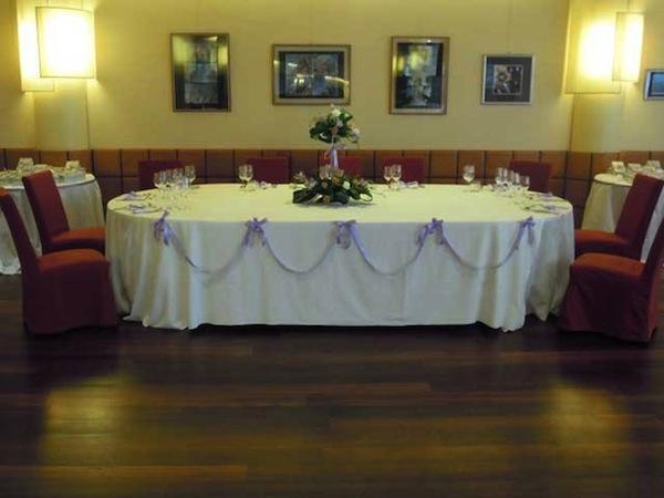 Sconto del 5% sui menù da 55 Euro a tutti gli sposi che prenotano presso Il Rubino dell'Hotel Atlantic