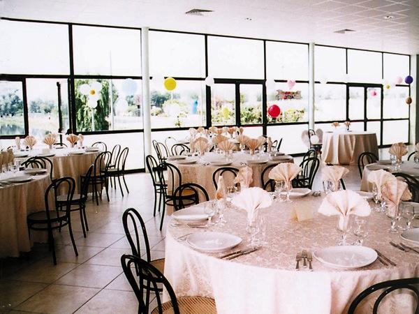 Sconto del 5% sui menù a partire da 45 Euro per gli sposi che prenotano presso il ristorante Lago Azzurro