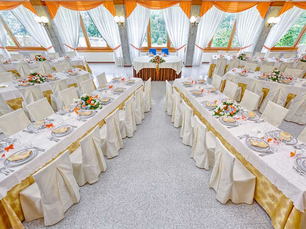 Per le vostre nozze Berta - Hotel Italia vi aspetta con vantaggiose offerte per il menù bimbi
