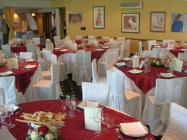 Sconto 10% sui banchetti nuziali effettuati la domenica a chi prenota presso il ristorante Rosa d'Oro