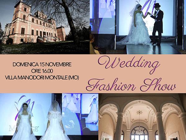 L'atelier Le Mariage invita le spose al Wedding Fashon Show domenica 15 novembre 2015
